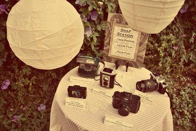 Vintage Camera Station