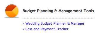 budget function in My wedding workroom