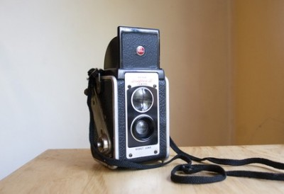 Vintage Duflex camera