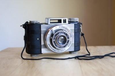 Vintage Working Detrola Model D Camera
