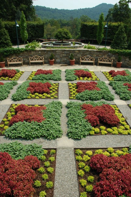 Quilt Garden at the NC Arboretum