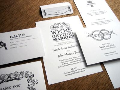 free vintage bicycle wedding invitations