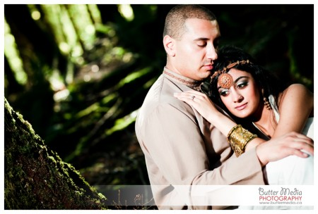 five year Anniversary session of Indian Couple