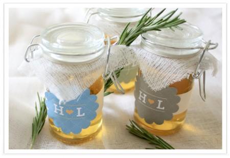 Rosemary Favor Jars