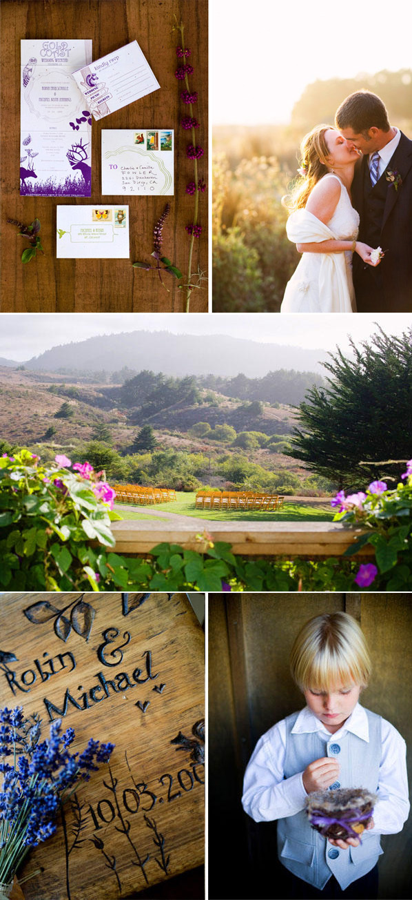 Purple Mountain Wedding