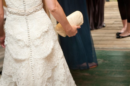 Wedding Gown and Clutch