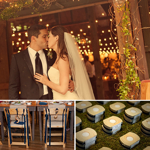 Bride and Groom + Reception