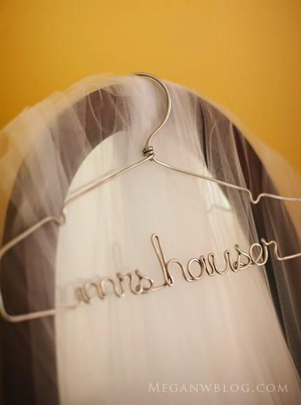 mrs bridal hanger