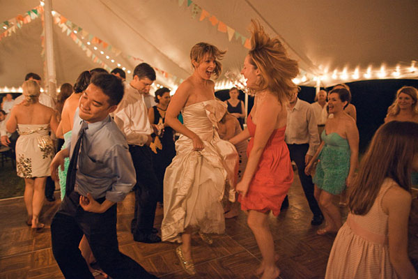 Asheville Indie Wedding Dancing