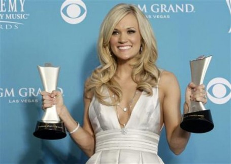 Carrie Underwood as a metaphor for bridal awards
