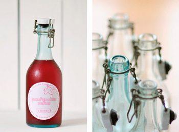 Free Red DIY bottle labels