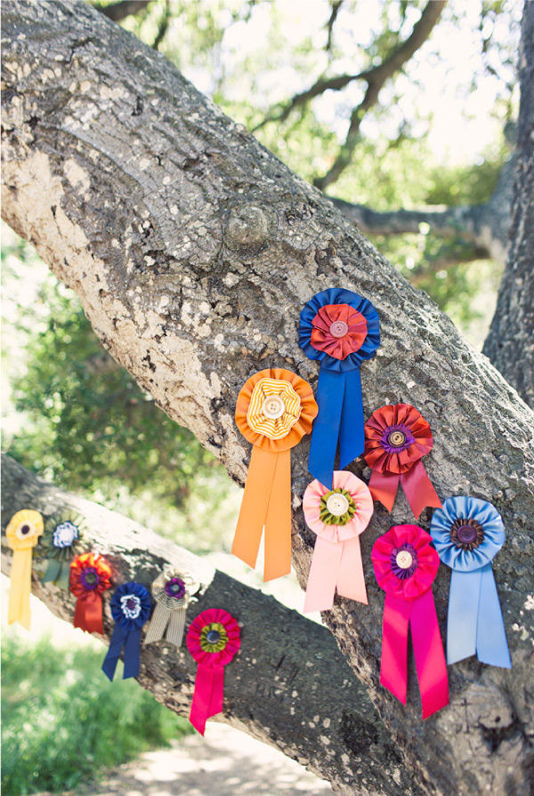 Ribbons in a tree