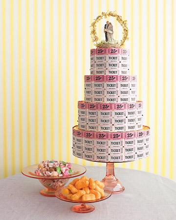 carnival ticket cake