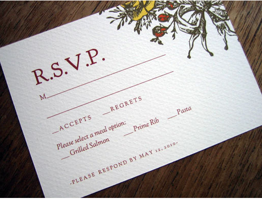 harvest wedding invite