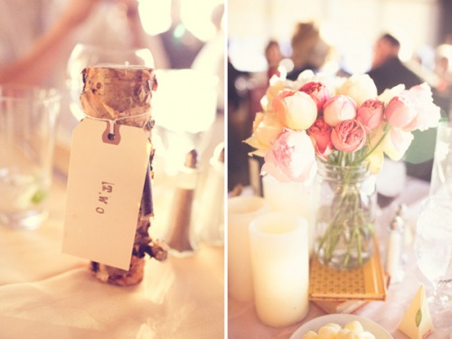 tiny tablescape elements