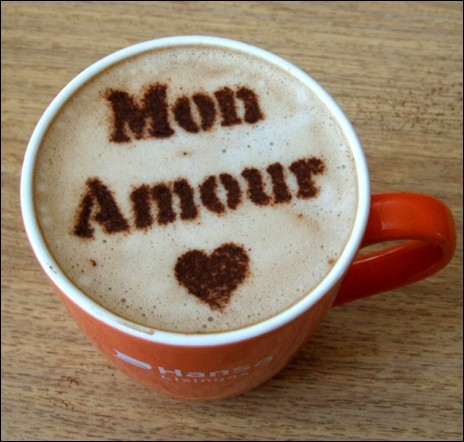 mon amour coffee foam