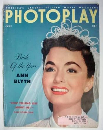 vintage bride on a magazine cover