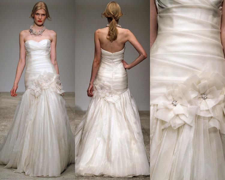 Amsale Sierra wedding gown