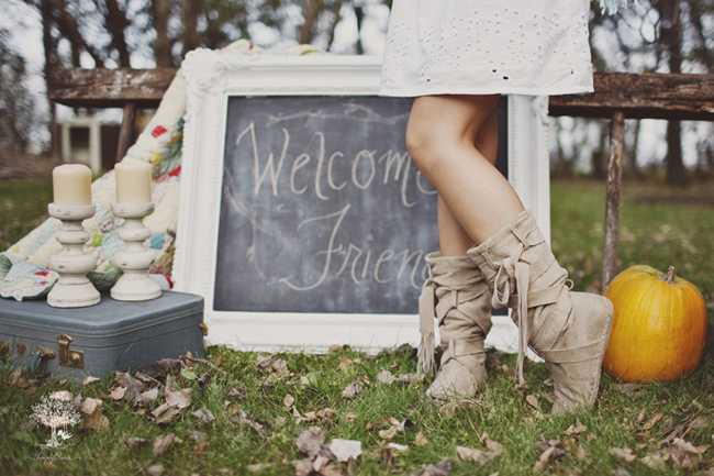 slouchy boots on bridesmaid
