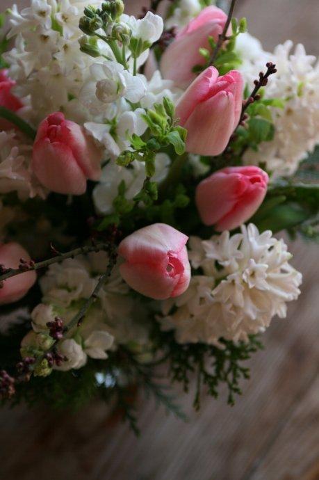 DIY tulip bouquet