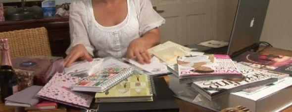 bride with planning materials