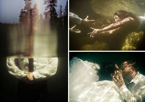 underwater day-after shoot in the mountains