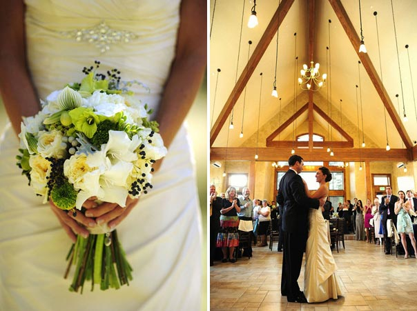 elegant colorado mountain wedding