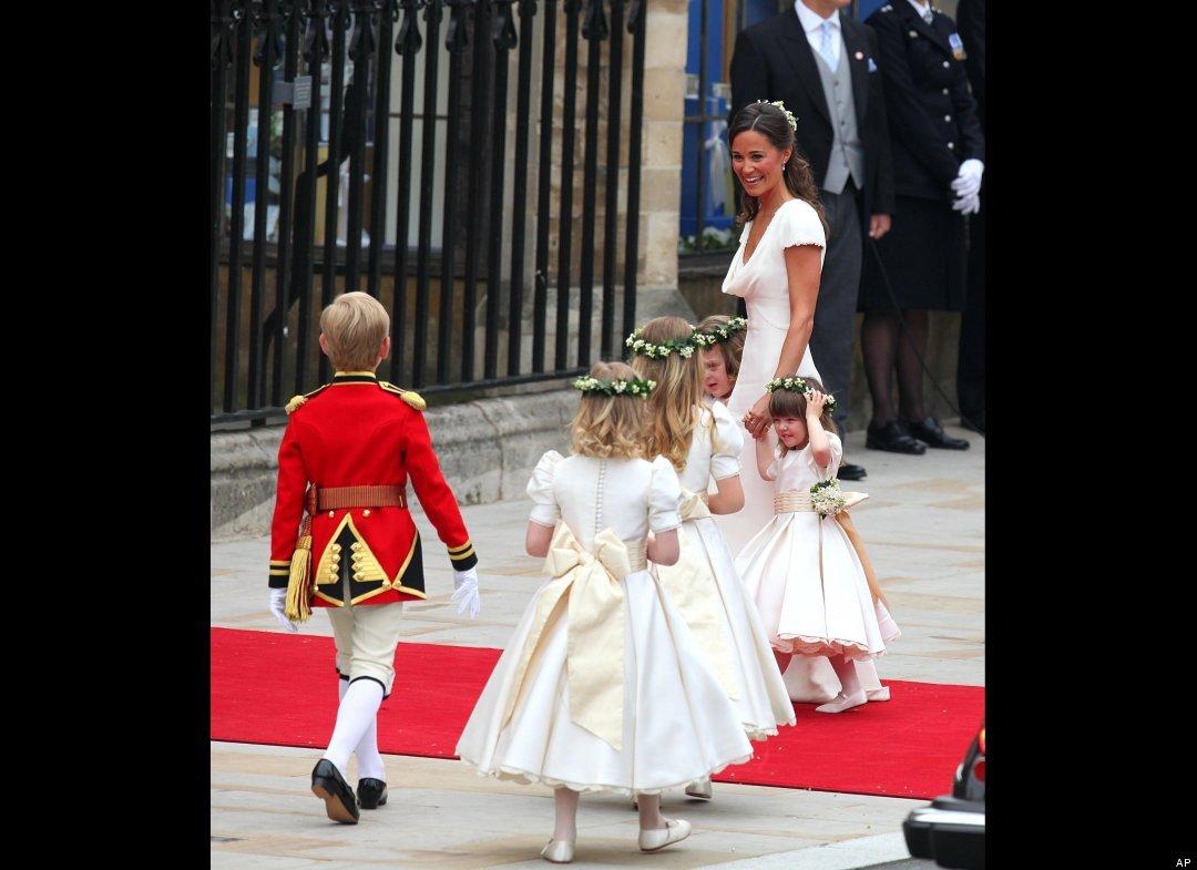 Kate's bridesmaid's dress