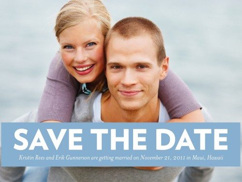 Win Save The Date Cards from Shutter Fly