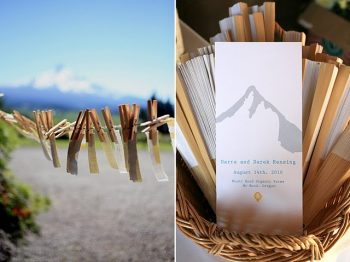 Mount Hood Wedding Invitations