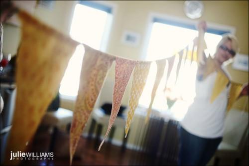 DIY wedding Bunting