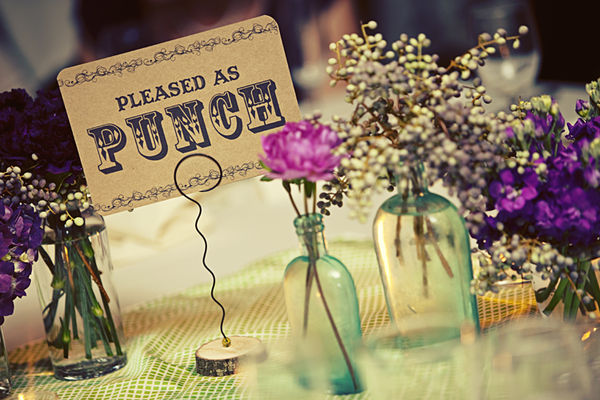Pleased as Punch Table number