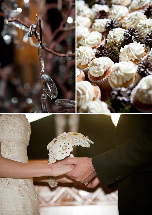 Elegant DIY Mountain Wedding Details