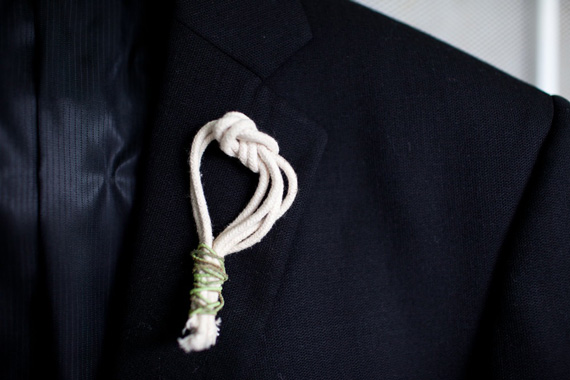 knot boutonniere
