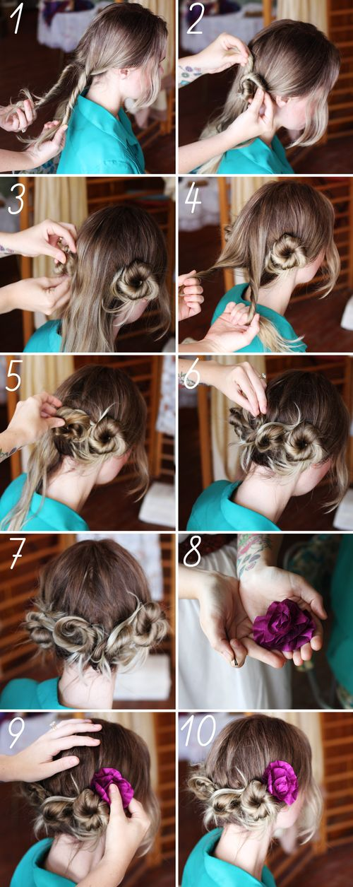 Directions for DIY hair twists