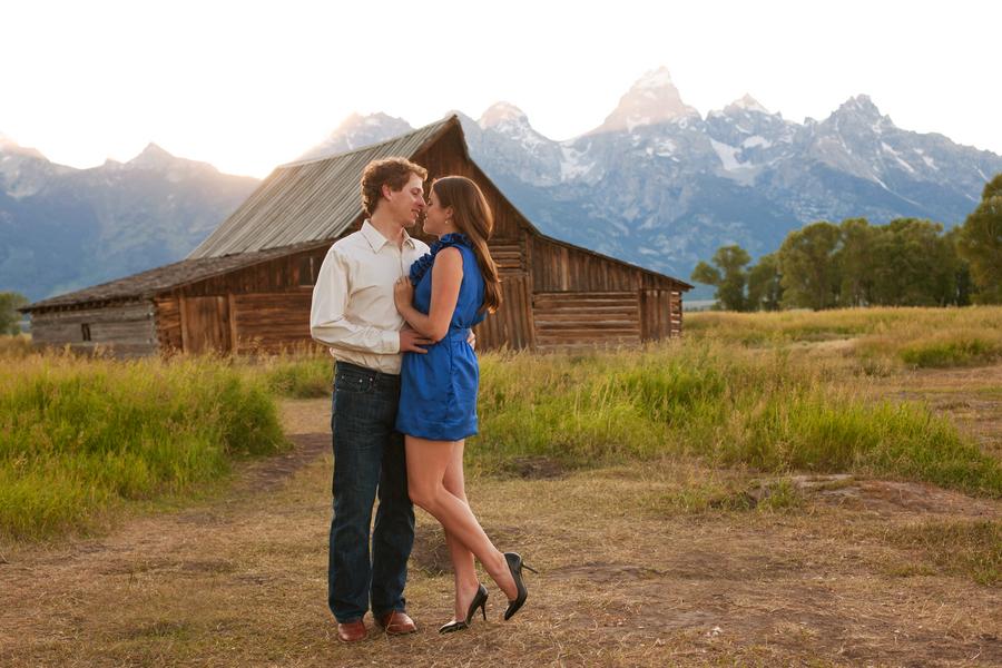 Yellowstone NAtional Park engagement