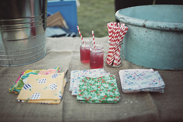 DIY Fabric napkins