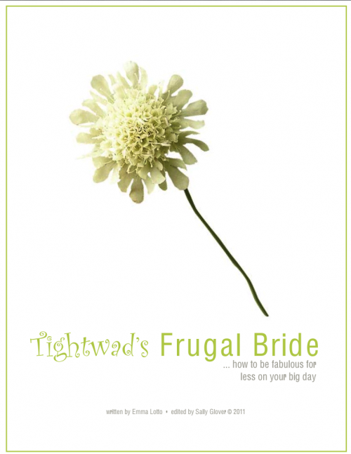 tightwads Frugal Bride