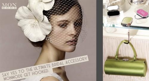 Mon Mode Purse Hanger for a bride