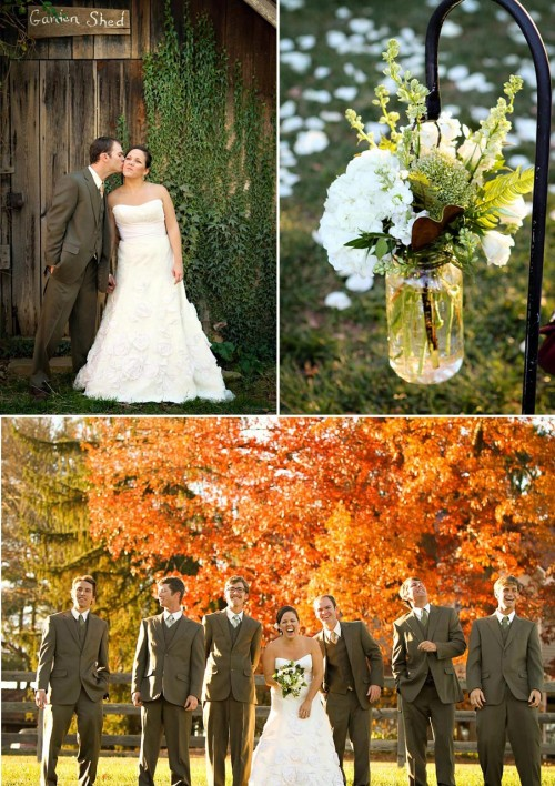 fall wedding in western North Carolina