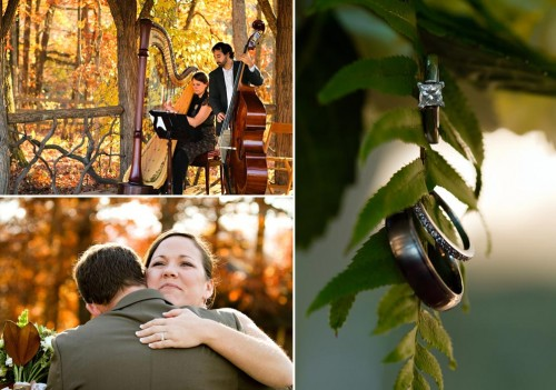 Fall wedding in the southern Mountains