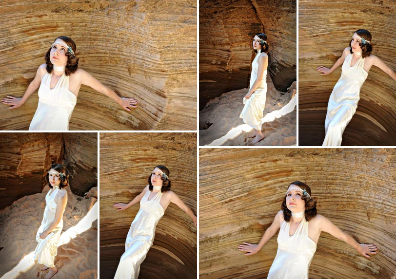 Bridal Portraits in Zion National Park