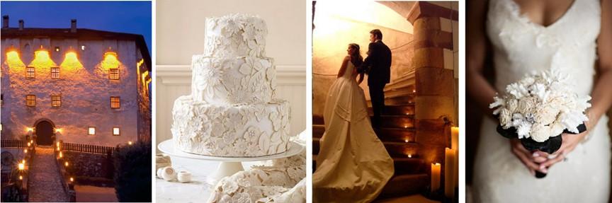 winter wedding in the Italian Alps