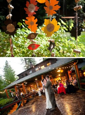 Backyard DIY Wedding in Lake Tahoe