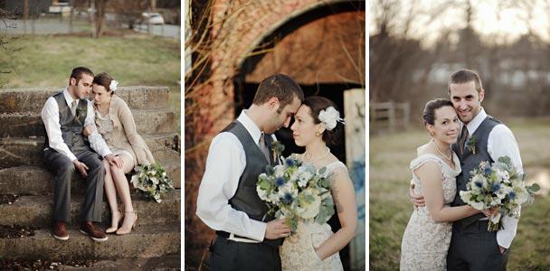 Asheville wedding portraits