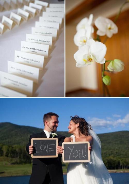 Vermont wedding details