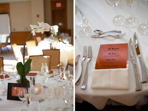 pretty vermont reception table designs