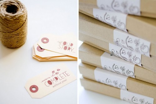 whimsical creature invitation boxes
