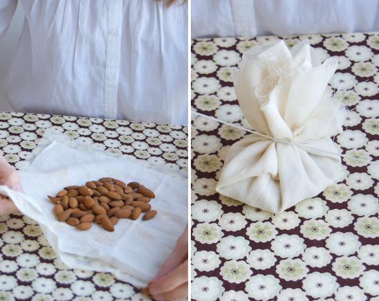 DIY almond favors