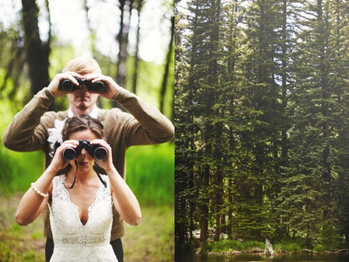 Woodsy Colorado Wedding
